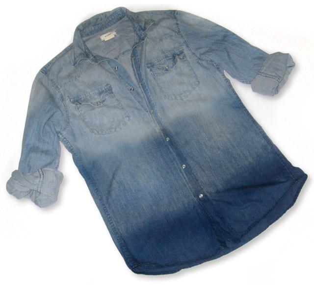 Decolorar una camisa de jeans