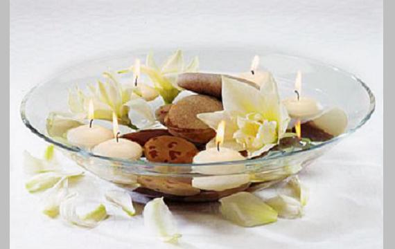 Centros de mesas aromáticos