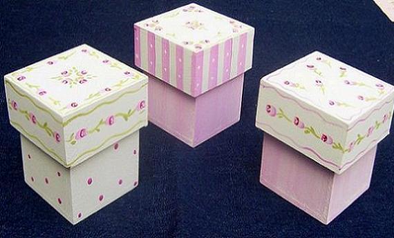 decorar cajas de madera para ni os