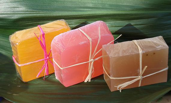 Jabones artesanales de glicerina y miel
