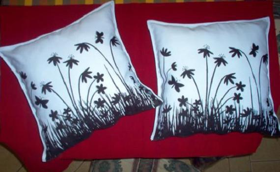 Renovar cojines y almohadones: rellenar y decorar