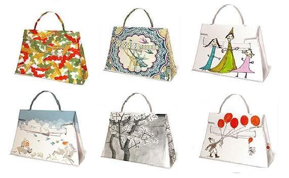 Bricolage: bolsas de papel