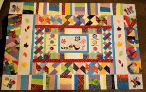 Cómo hacer un cuadrado de patchwork