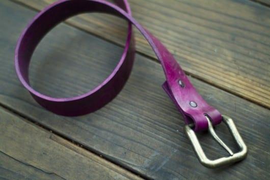 Haz un cinturón de cuero