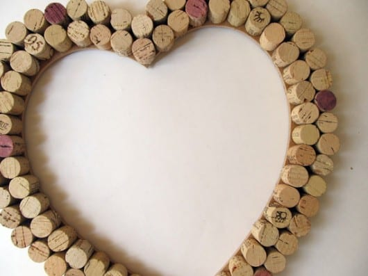 Corazón de corcho