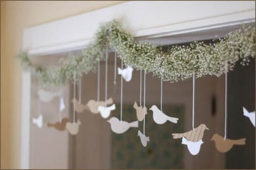 Cómo elaborar guirnaldas para bodas