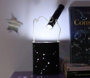 Lámpara de noche constelaciones