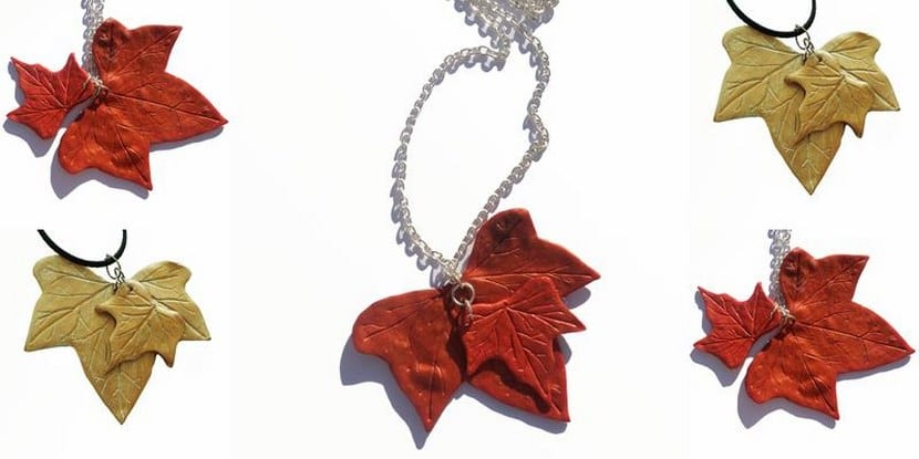 colgante hojas