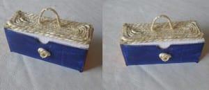Decoración de cajitas de cartón