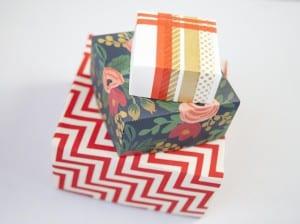 cajitas con papel