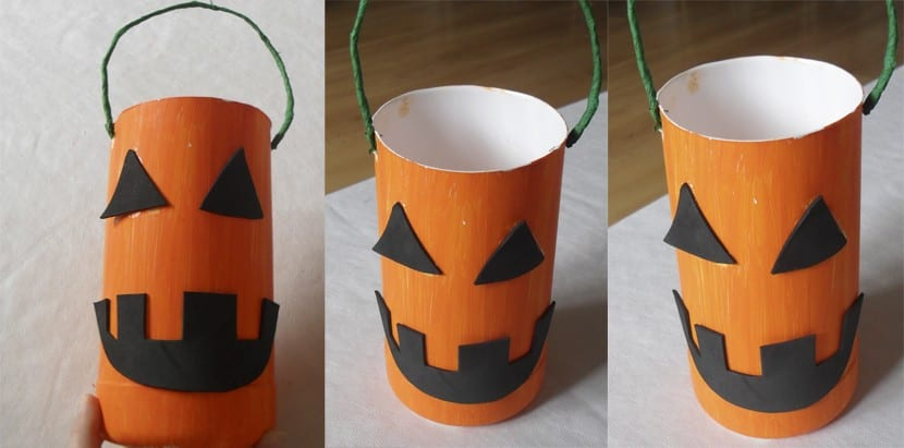 Bote de chuches para halloween