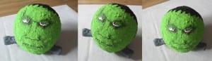 Cabeza Frankestein con globo