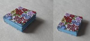 Mini libro de papel de origami