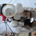 Campanas de navidad con cápsulas de café