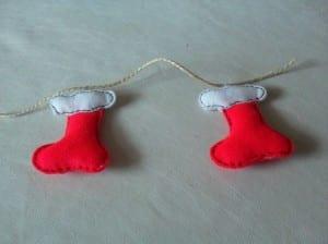 Guirnaldas de Papá Noel