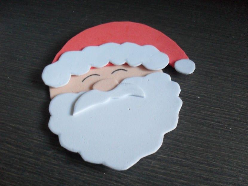 Papá Noel de goma eva