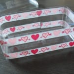 Caja de ferrero rocher con washi tape
