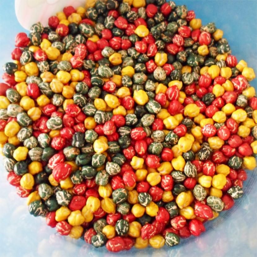 Tutorial: Cómo teñir legumbres