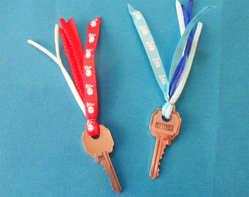 llaves customizadas