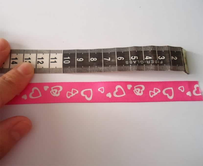 Medida para hacer Pulseras para niñas