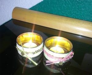 candelero vintage