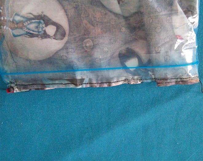 bolsa porta bikini impermeable