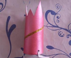 coronitas de cartón