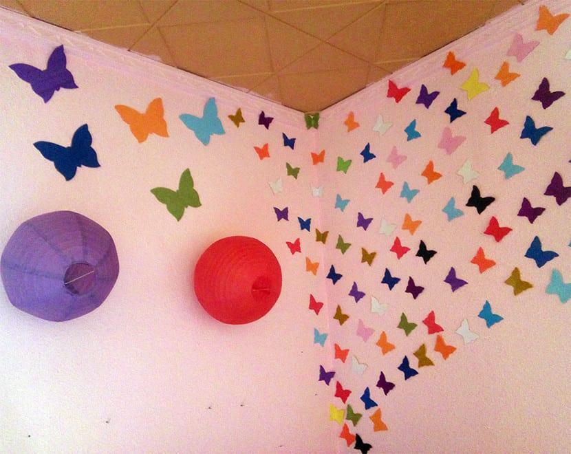 Mariposas de goma eva muy decorativas muy f cil for Como hacer decoraciones para paredes