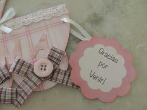 Souvenirs para entregar en la maternidad