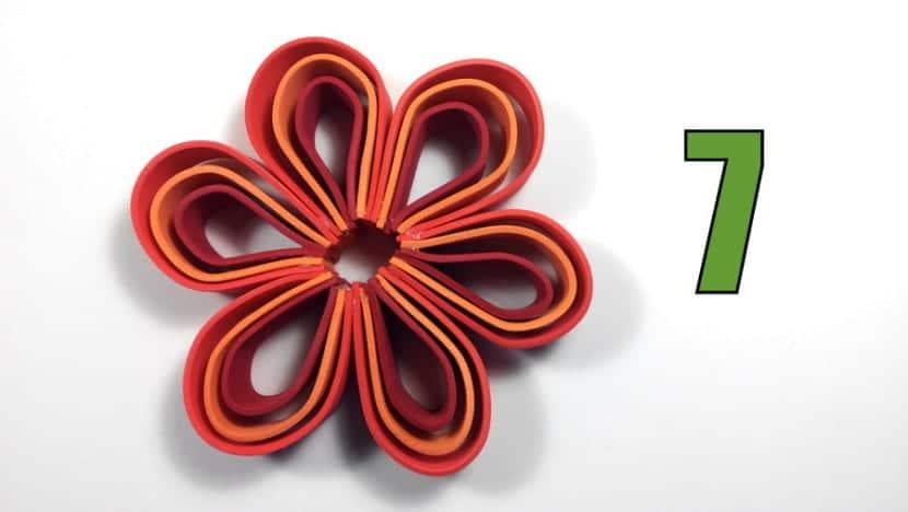 flores de goma eva foamy margaritas