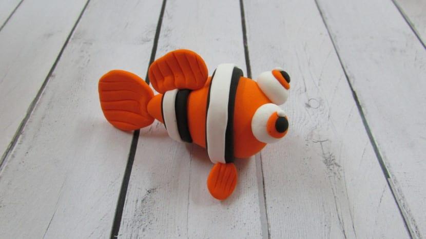 aleta pequeña Nemo