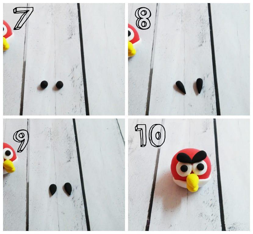 Cejas Angry Bird
