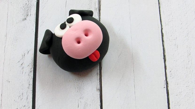 Cerdo de fimo