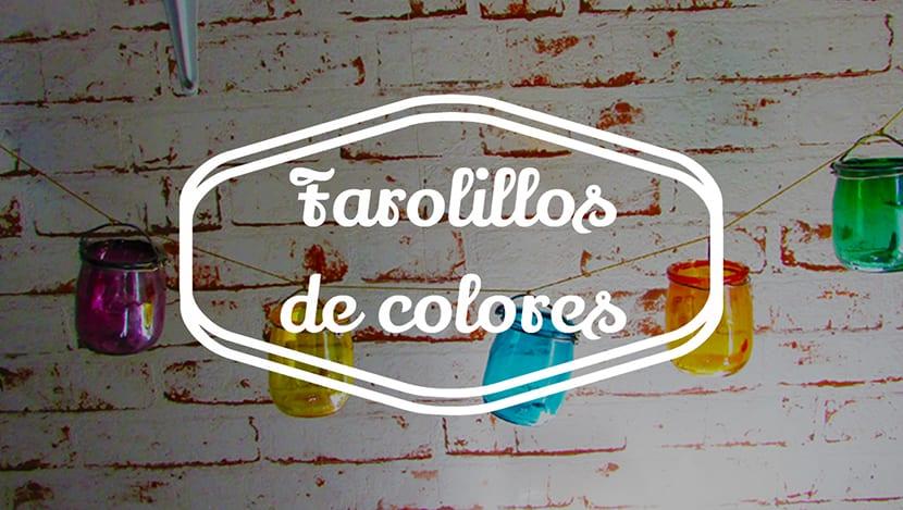 Farolillos de colores
