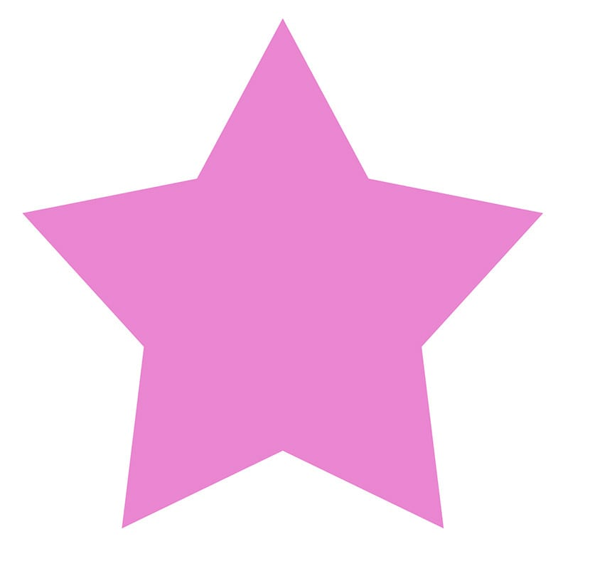 molde de estrella