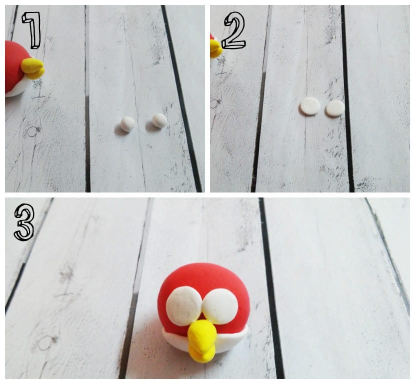 Ojos Angry Bird