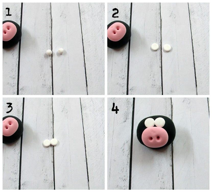 Ojos cerdo