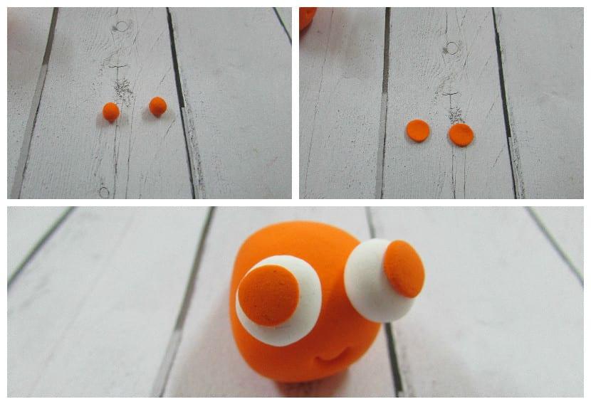 Ojos naranjas nemo
