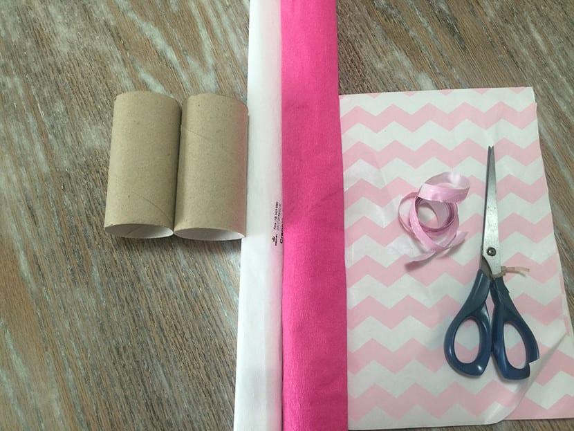 materiales para hacer souvenirs en forma de caramelo