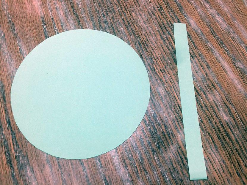 paso 1 ggalletitas de la fortuna en papel