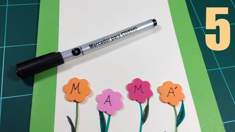 tarjeta dia de la madre