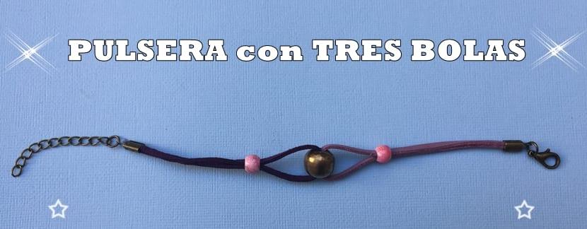 PULSERA TRES BOLAS