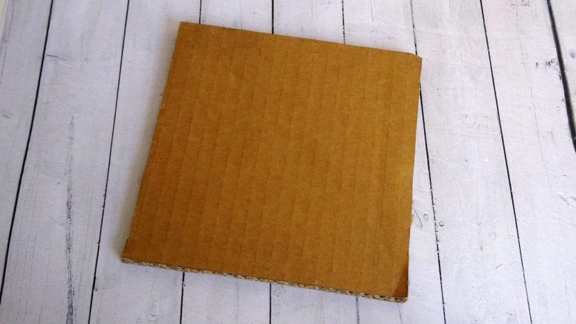 cartón tablero