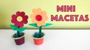 macetas goma eva flores capsulas de cafe