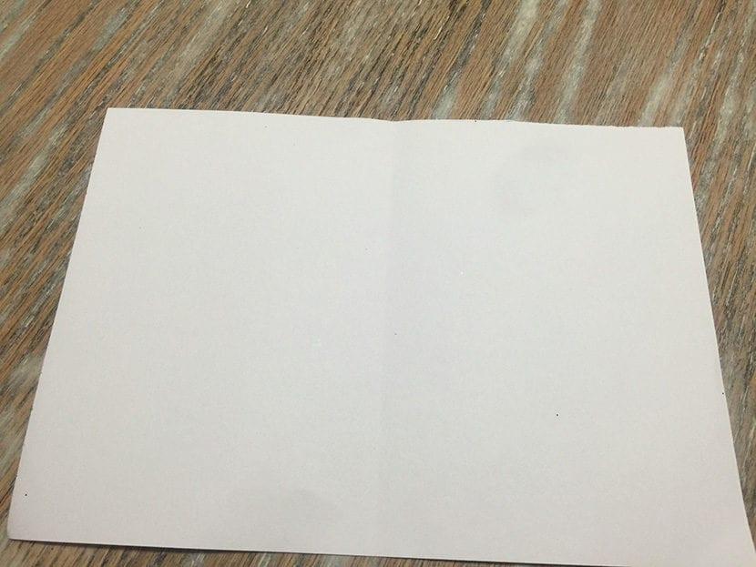paso 1 tarjeta con washi tape