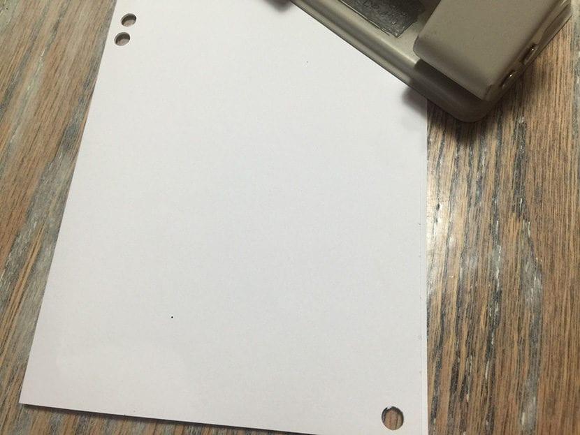paso 2 tarjeta con washi tape