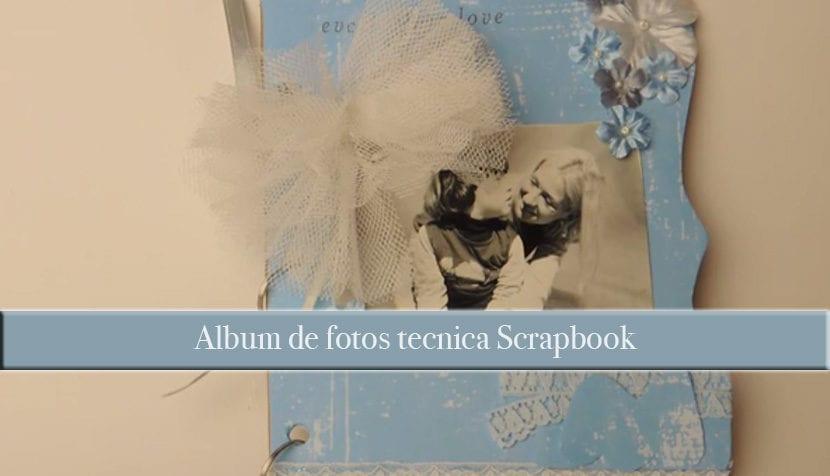 Como hacer allbum scrapbook