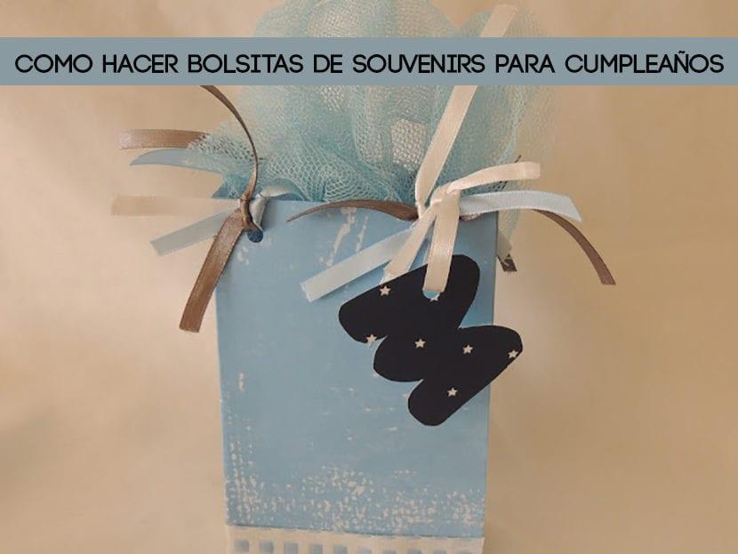 Como hacer bolsitas de souvenirs para cumpleaños