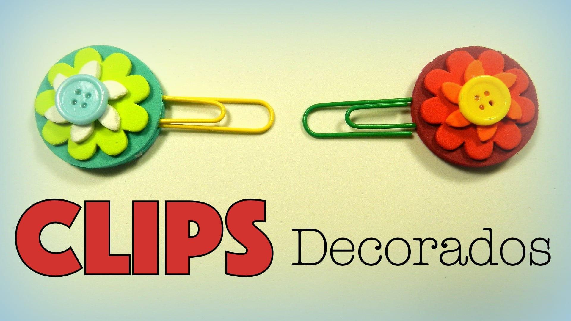 clips decorados