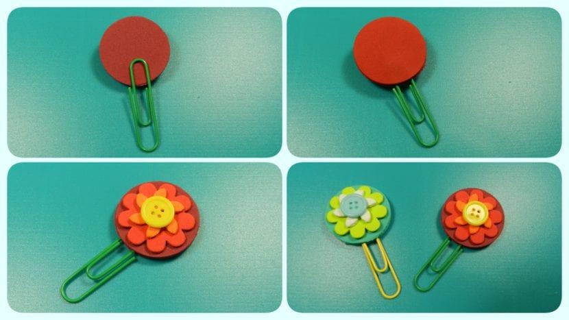 clips decorados flores